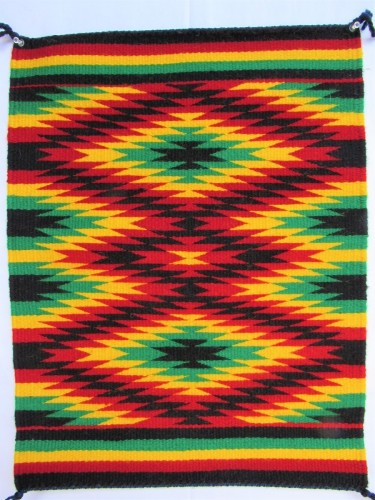Rastafarian Theme Tapestry by Irveta Aragon