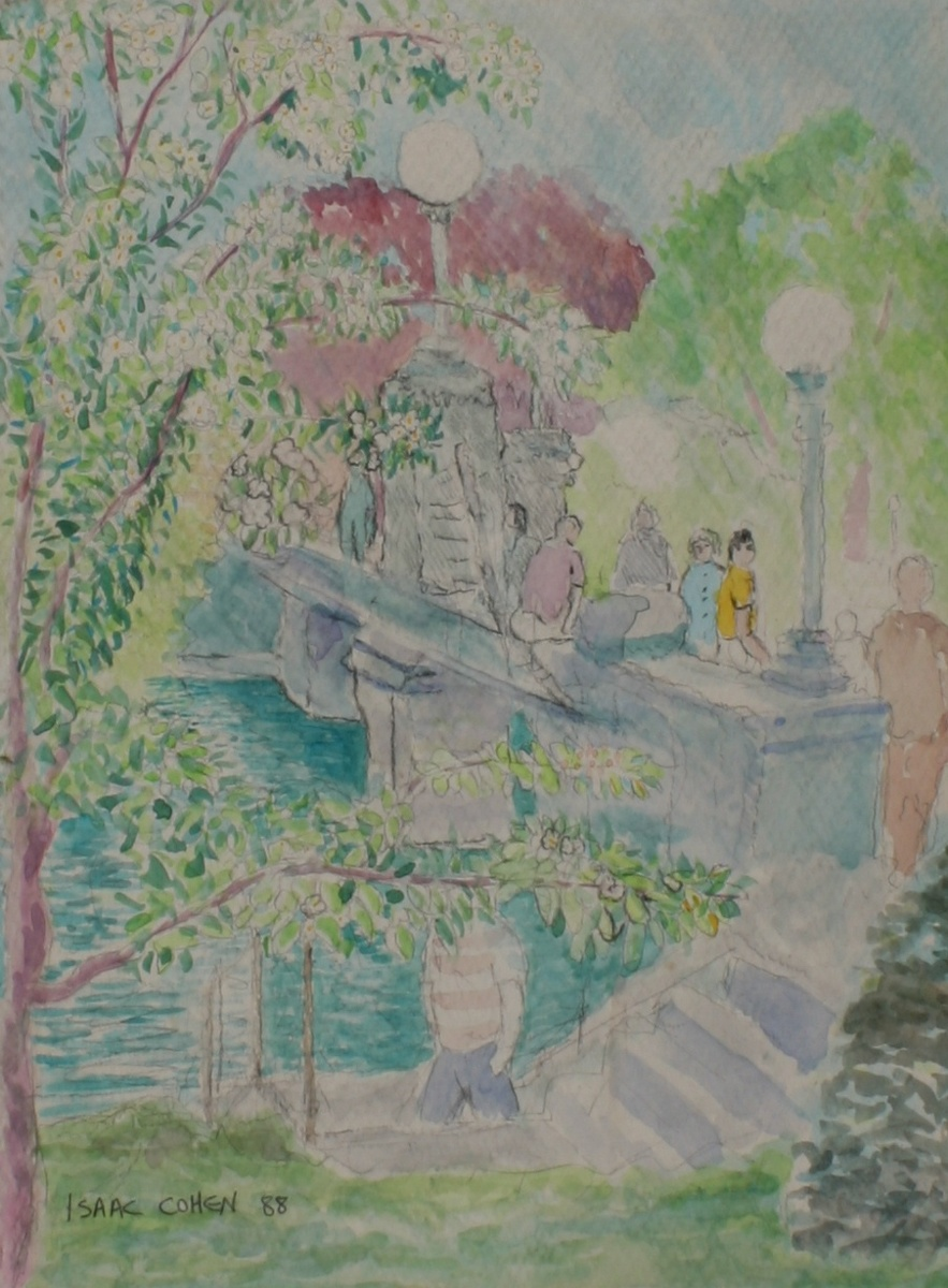 """On the Bridge"" (large view)"