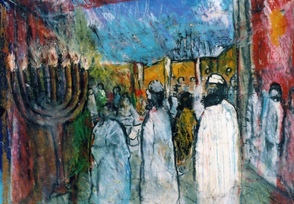 """""""Chanukah Story"""" (large view)"""