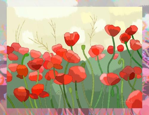 Poppies Field, print edition