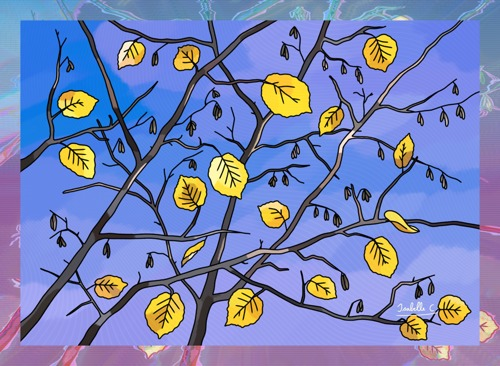 Yellow Leaves on the Sky, print edition