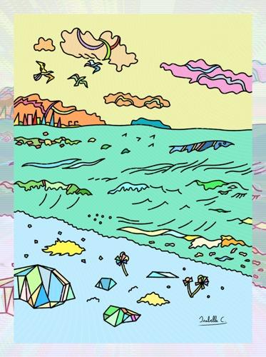 Strange Seaside, print edition