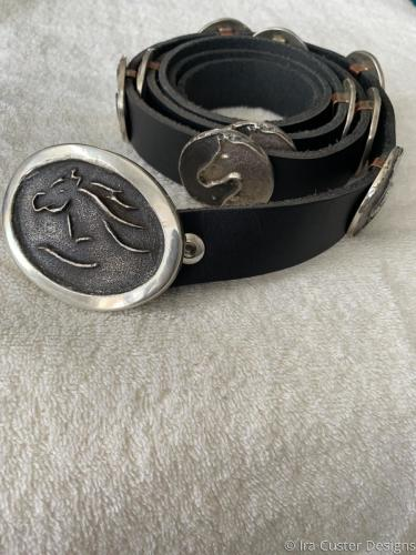 Horse concho belt medium