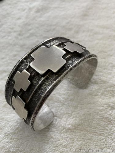 Cross Bracelet by Ira Custer Designs