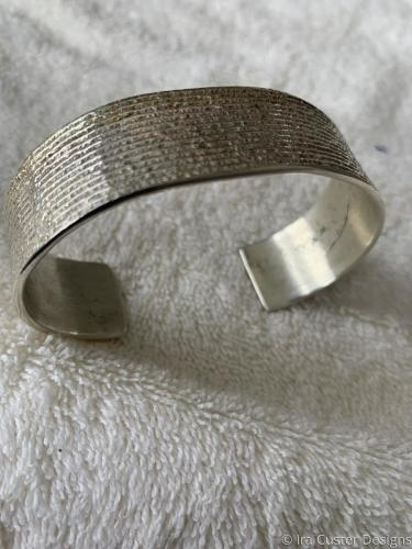 Cornfield Frost Design Bracelet by Ira Custer Designs