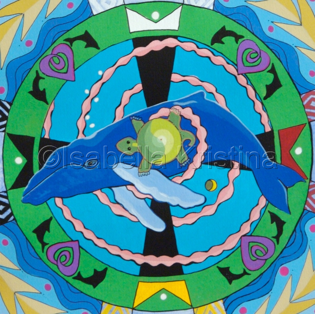 Whale Song Mandala (large view)