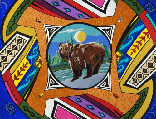 Bear Mandala (large view)