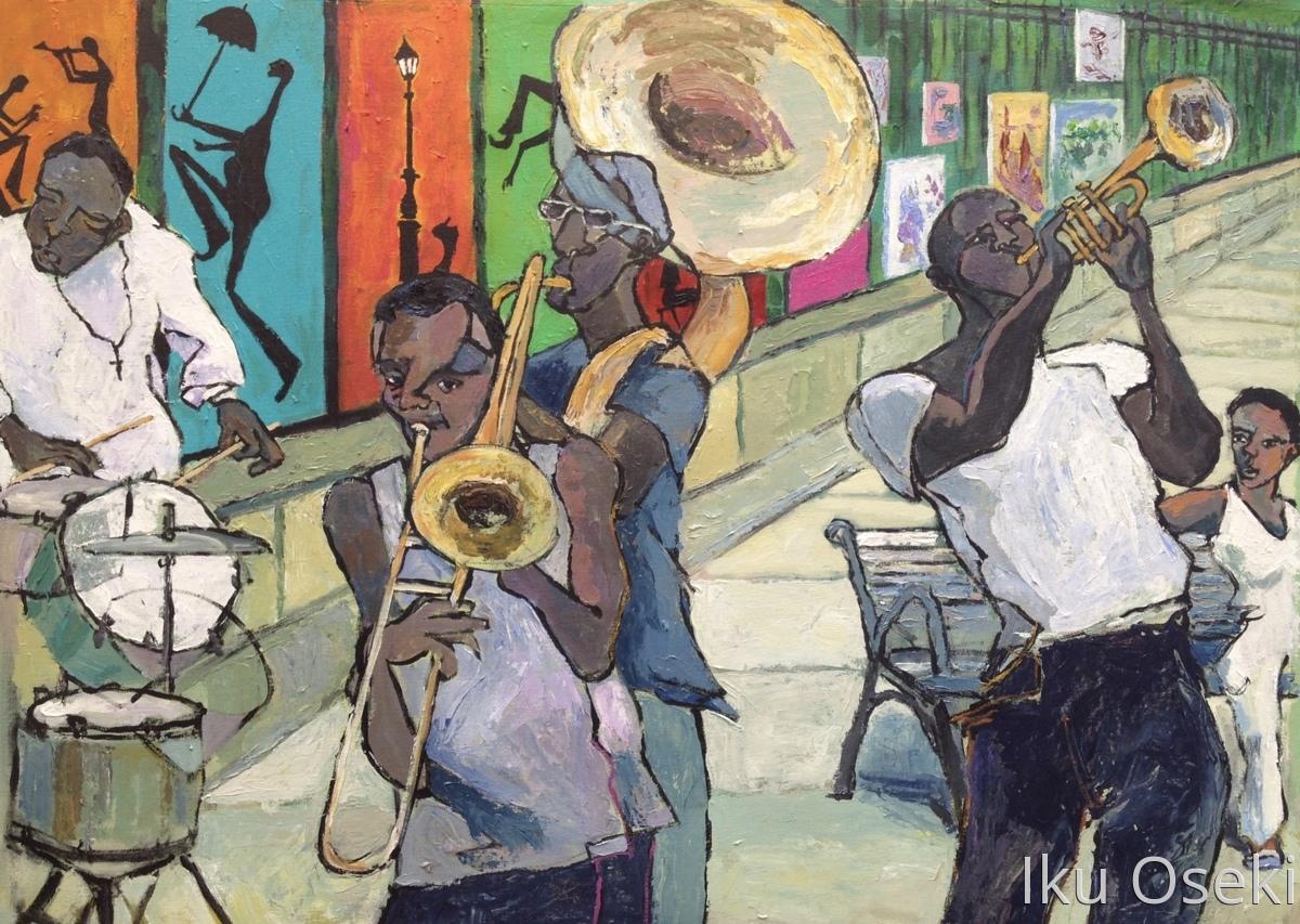 paintings of new orleans scenes