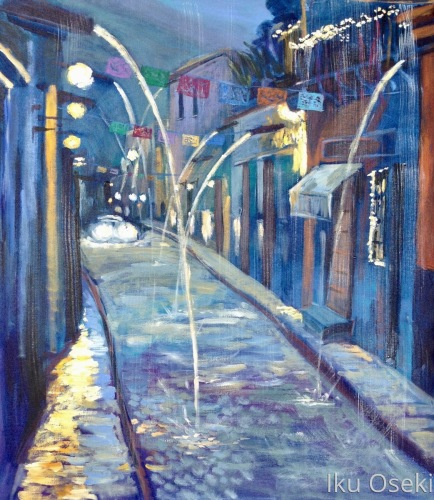 Predawn Rain In San Miguel by Iku Oseki