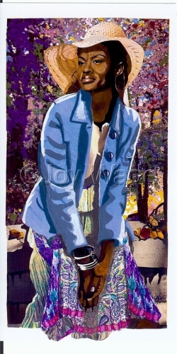 Louise's Spring Afternoon by Joy Lalita Wesley- Wade