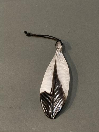 Glass Feather  by Ira Lujan Glass