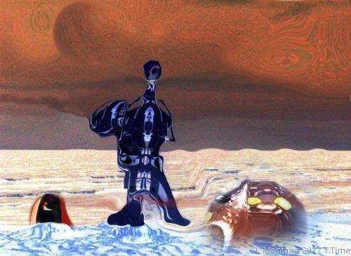 Lalo at La Angostura Mars