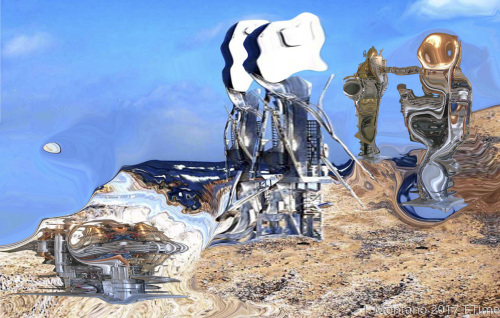 Robot manufacturing . Pomona Clifornia Mars
