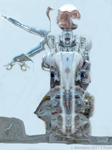 I am Pablo a human robot. kodak Mars