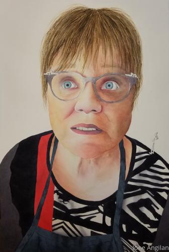 Portrait of Kathy