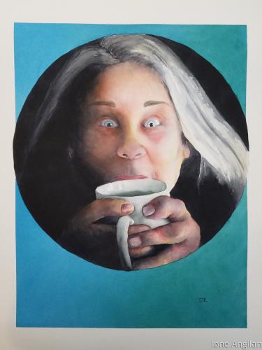 Portrait of Angie