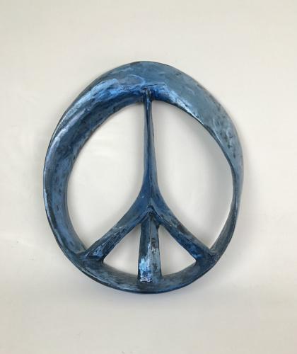Infinite Peace in Blue
