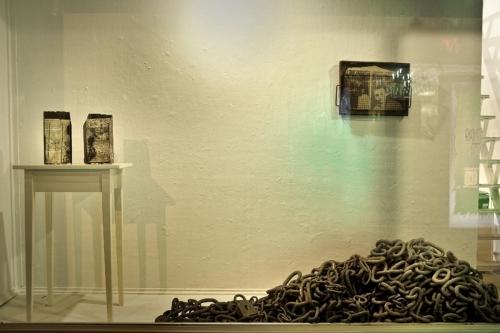 Window Installation in Tova Osman Gallery
