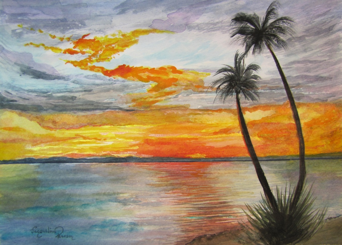 Capistrano Sunset (large view)