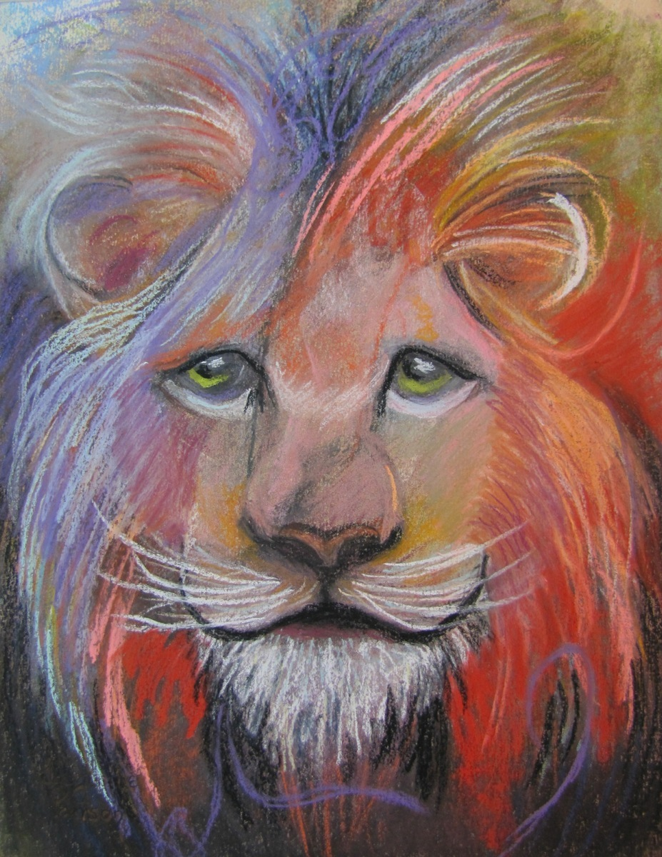 Crazy Lion (large view)