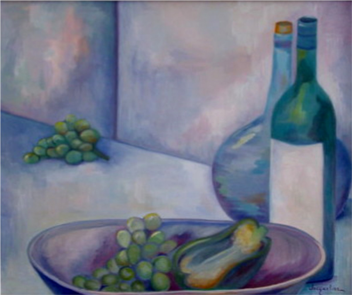 Still Life With Wine Bottles (large view)