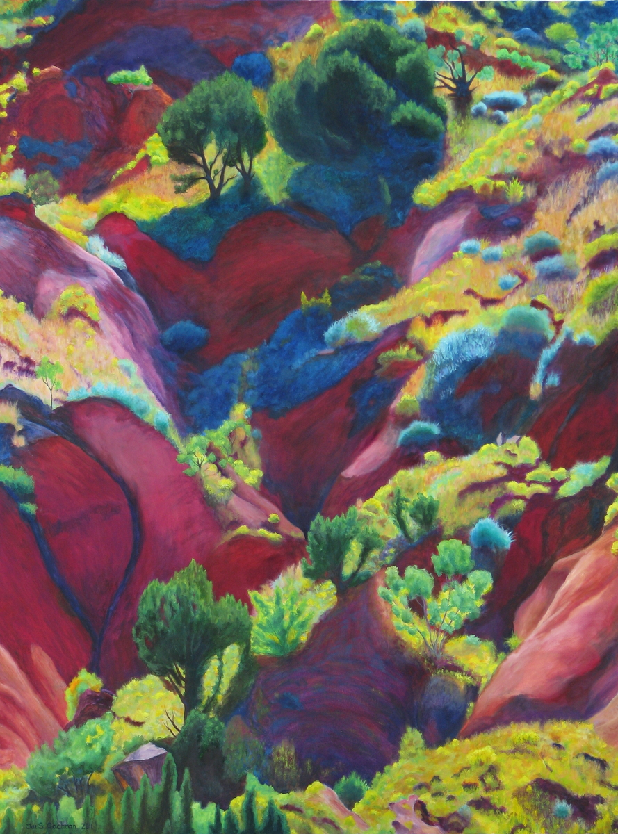 September Colors, Palo Duro Canyon (large view)