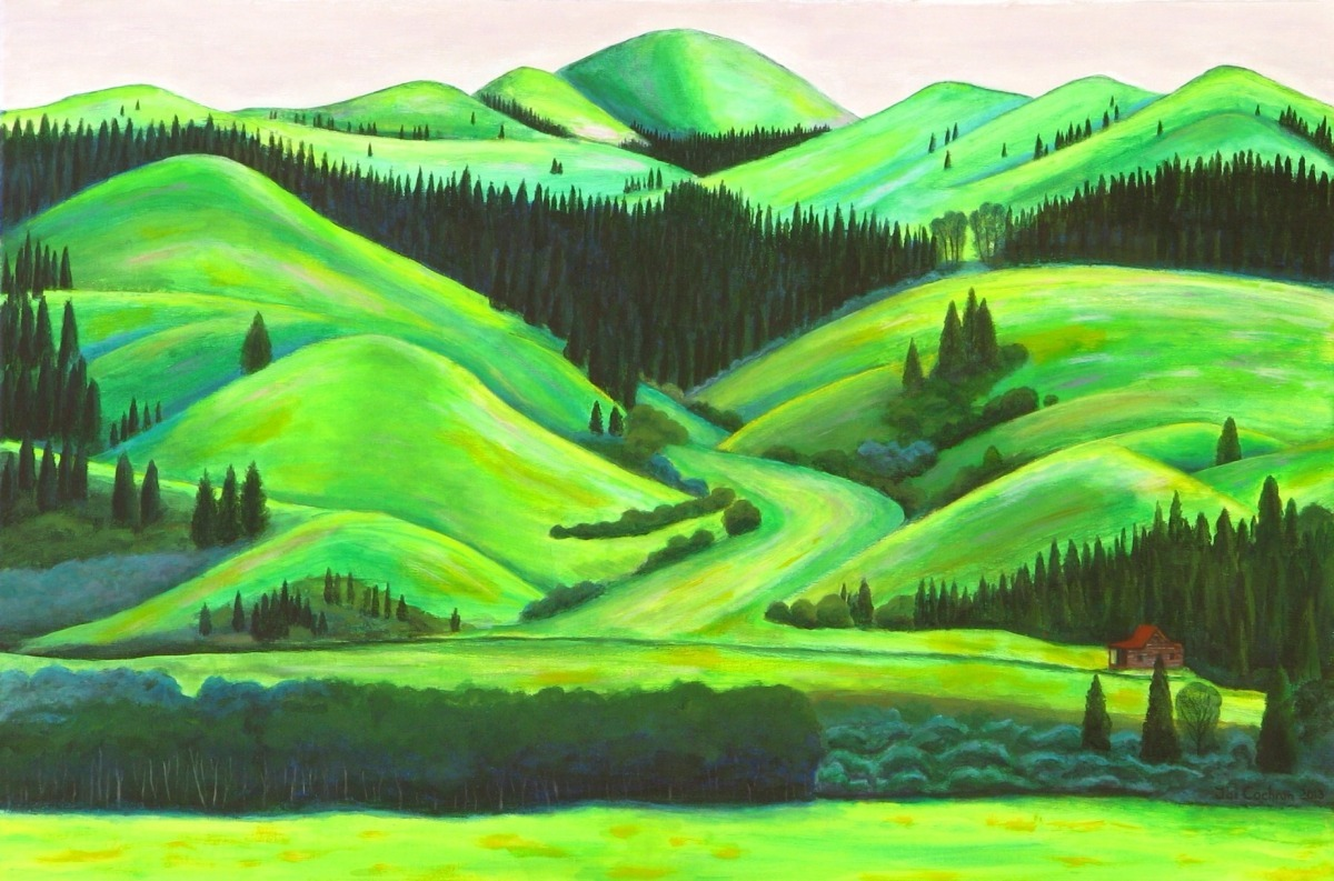 Green Hills of Montana (large view)