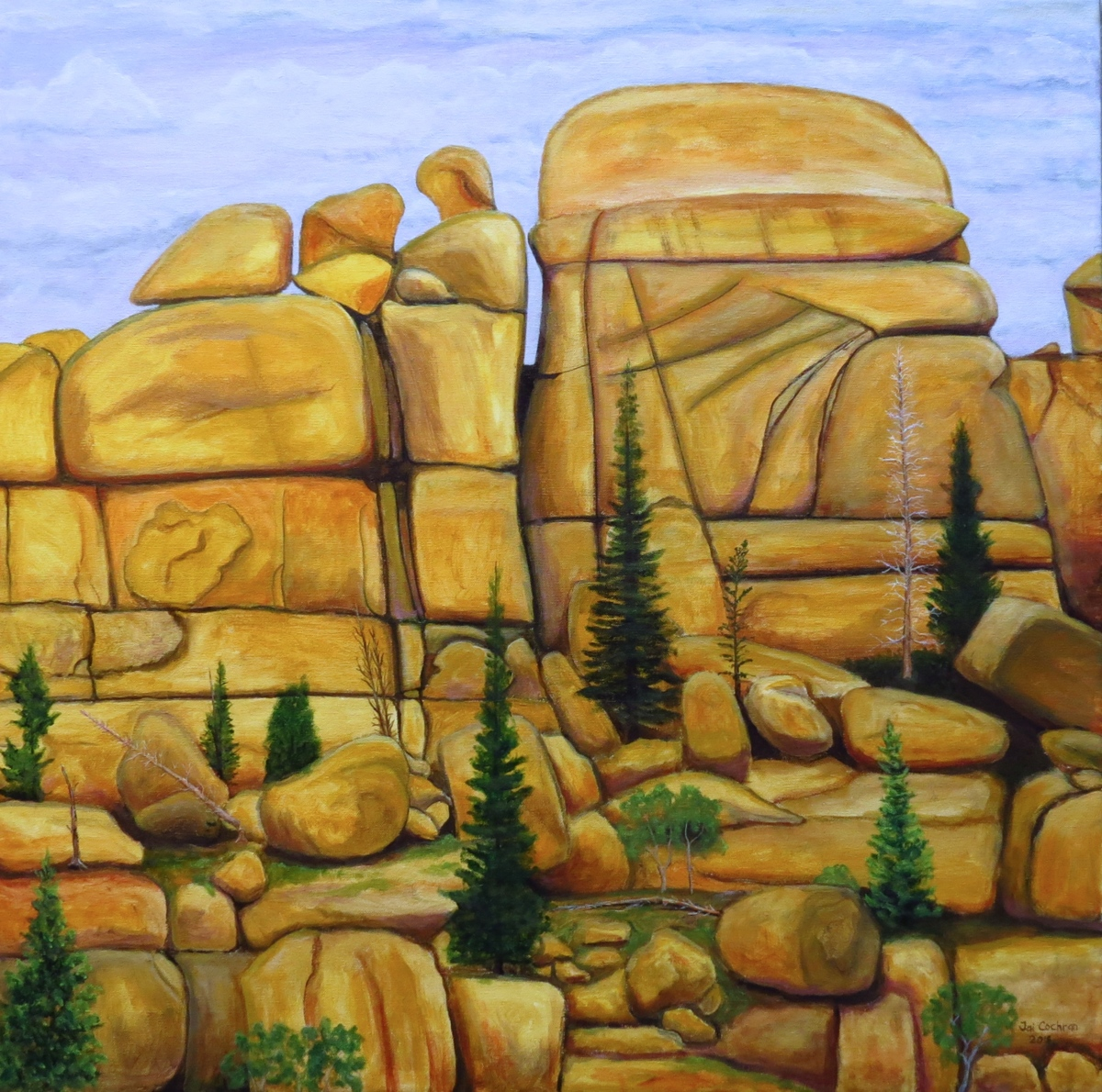 Vedauwoo Rock (large view)