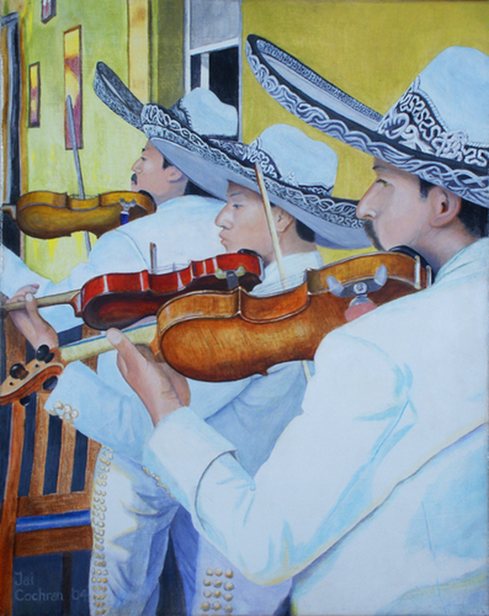 Mariachi Violinists (large view)