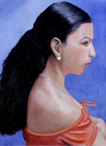 Muchacha by Jai Cochran Art