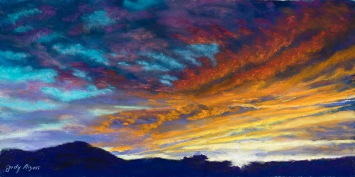 Sunset Fantasy by Judy Aizuss Magical Moments