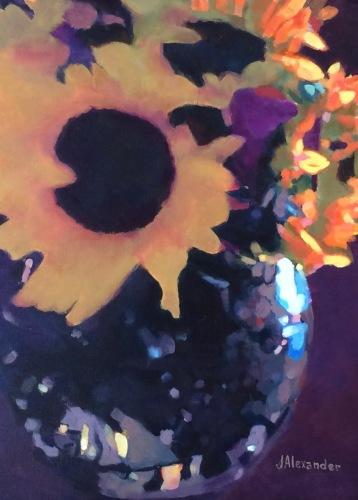 Sunflower Bouquet by Jeanette Alexander