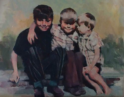 Little Smith Boys by Jeanette Alexander