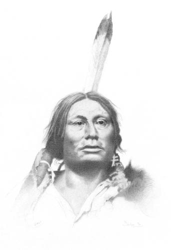 Gall a head war chief in the battel of the littel bighorn.