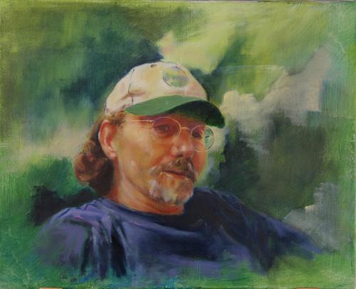 Self Portrait by James Truby