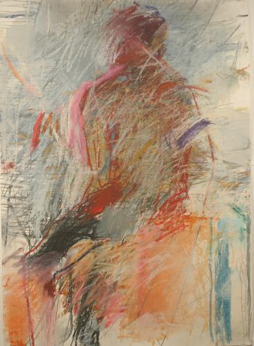 """back rubbed""  TORSO SERIES by arline kimbel sadlon"