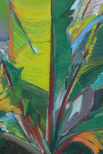 Banana Leaves Forms II by Jane Crowell