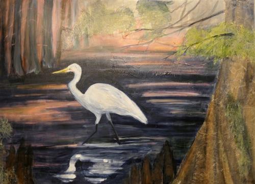 Great Egret of Hyson Bayou