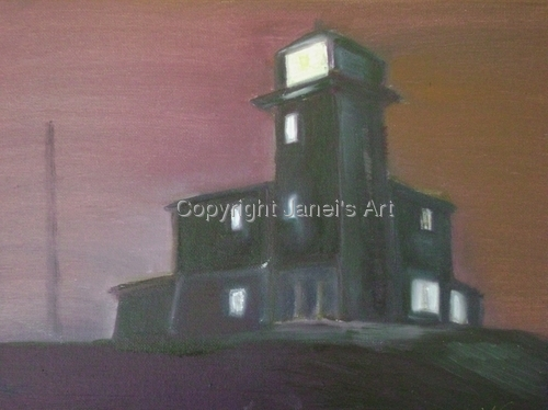 Lighthouse at Cherry Island - Lights of Delmarva