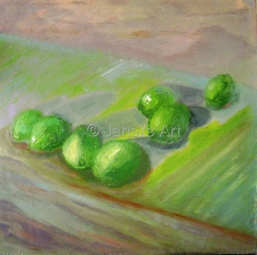 Limes - A Study in Greens