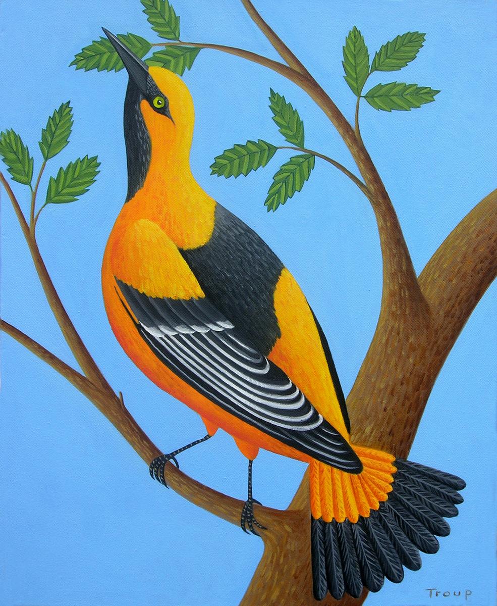 ORANGE BIRD (large view)