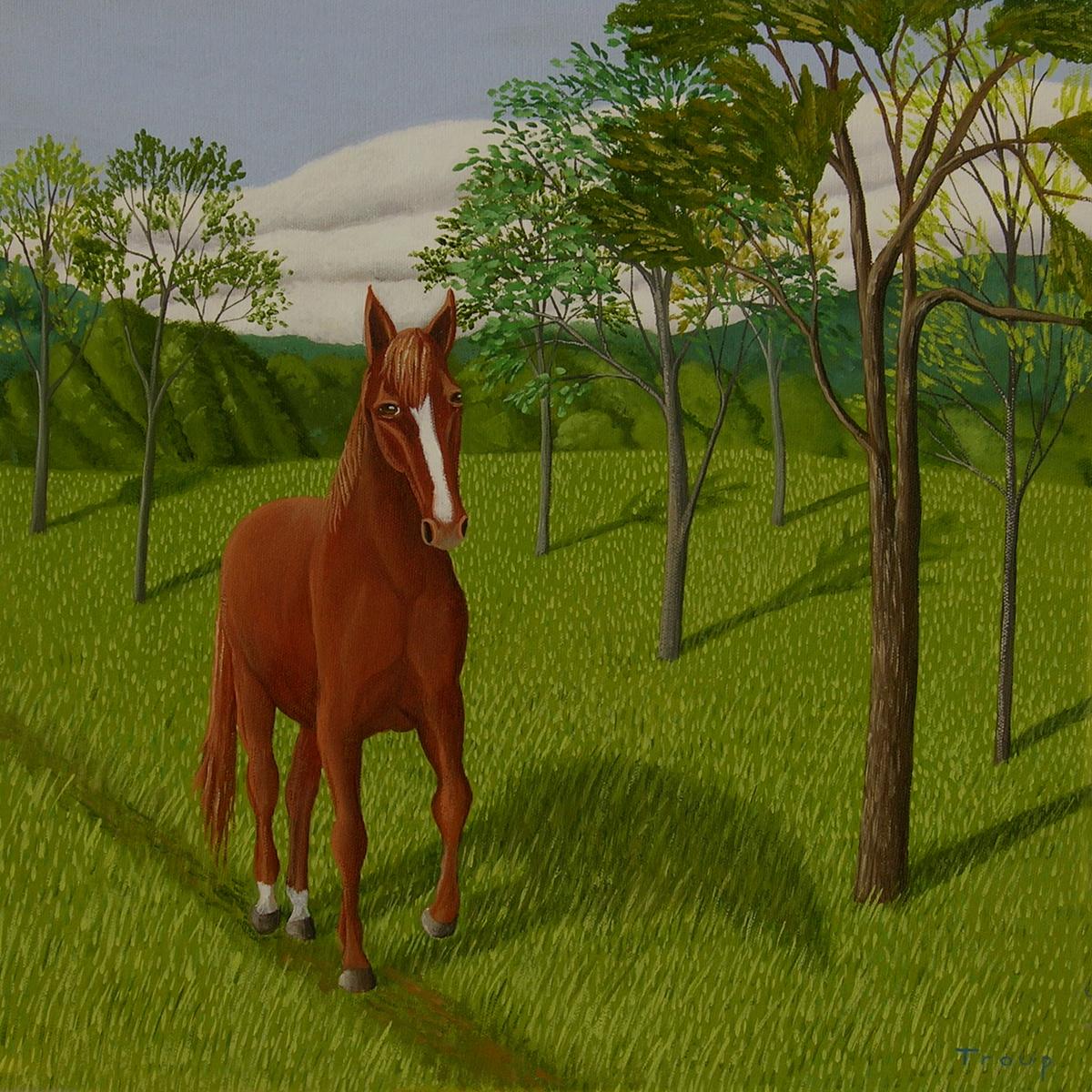 WALKING HORSE (large view)