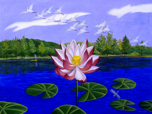 THE LOTUS BLOSSOM by JANE TROUP