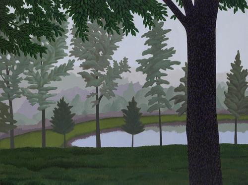 LANDSCAPE IN FOG (large view)