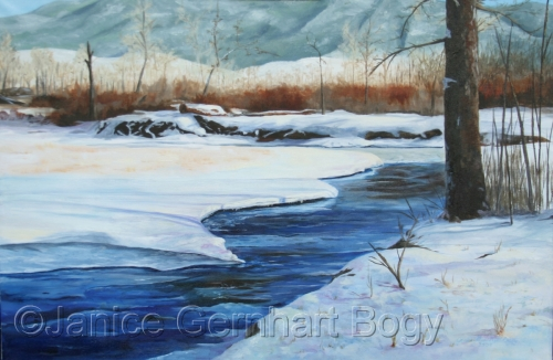 January Thaw - Boulder River