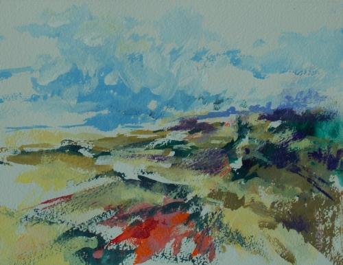 Open Field by Janice Wright
