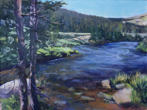 Streamside by Janice Wright