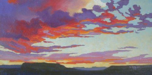 A Western Sunset by Raya