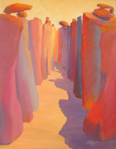 Red Canyon (from the series) by Raya