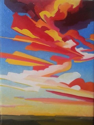 Western Sunset 2-26 by Raya